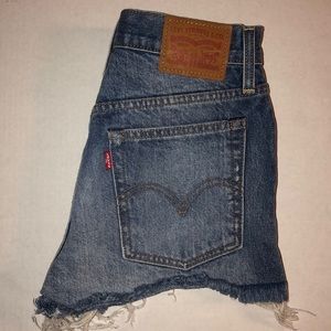 Levi's denim shorts 501